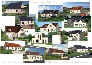 Maisons de Pâris Aisne : Catalogue